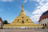 View of Wat Phra Borommathat Jadeeyaram in Kamphang Phet Thailand - 221010899