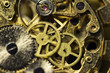 Leinwanddruck Bild - Process of installing a part on a mechanical watch, watch repair