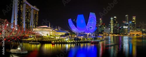 SINGAPORE NIGHT PANORAMA