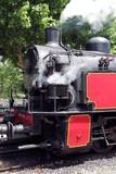 Train chemin de fer des Cevennes  Anduze à Saint Jean du Gard Compresseur locomotive à vapeur - 221105063