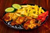 Roasted chicken leg - 221125220