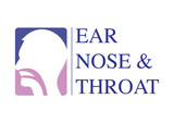 ENT logo template. Head for ear, nose, throat doctor specialists. logo concept. Line vector icon. Editable stroke. Flat linear illustration isolated on white background - 221177037