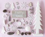 Christmas Decoration, Flat Lay, Text Merry Xmas - 221187219
