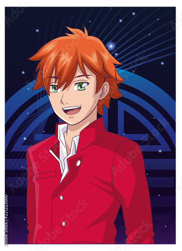 Young man anime cartoon - 221223000