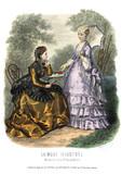 Gravure La Mode Illustrée 1869 26 - 221248627