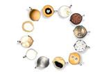 verschiedene Kaffeebecher - 221266608