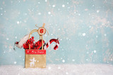 Nikolaus - gefüllte Papiertüte - 221267066