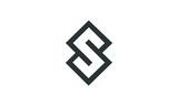 square S logo vector - 221276802