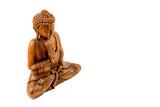 Wooden buddha statue - 221278484