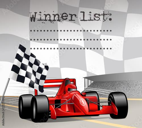 motorsport racecar