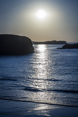 Atardecer sobre el Mar Cantábrico © Jorge