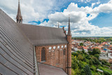Saint George s Church in Wismar, Germany. - 221281844