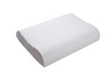 Orthopedic pillow, memory foam, Natural latex pillow on white background - 221287633