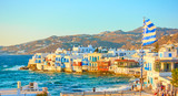 Mykonos town with and Little Venice district