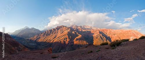 Cerro Aconcagua, Plus Haut Sommet des Amériques, Argentine, Chili