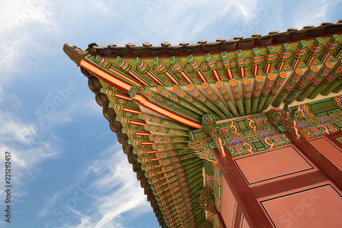 Leinwanddruck Bild Changdeokgung Palace Seoul