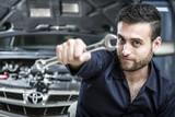 Mechanic man working - 221303438