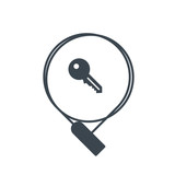 Bike Lock icon - 221304421