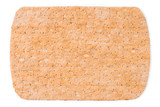 Flat rye bread top view isolated with clipping path - 221314274