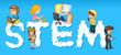 Children and word stem