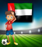 United Arab Emirates soccer player - 221315443