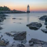 Sunrise off the coat of New England - 221324017