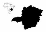 Minas Gerais State illustration - 221330815