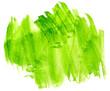 Leinwandbild Motiv green saturated green yellow spot with texture