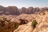 Mountain canyon near siq al-barid in Jordan - 221336890