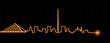 Dublin Light Streak Skyline - 221348868