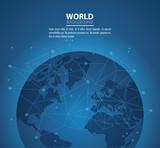 World modern background - 221359076