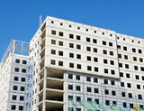 Construction of office building - 221369263