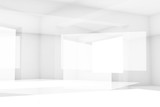Abstract white high-tech digital background 3 d - 221369603
