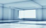 Abstract blue high-tech digital background 3d - 221369604