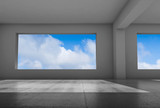 Interior background, 3d render illustration - 221369618