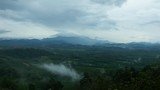Time lapse of flowing fog waves on mountain tropical rainforest in phang nga thailand - 221373060