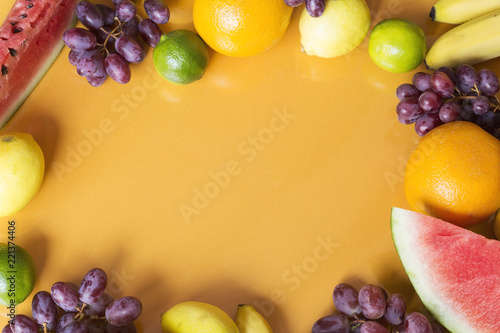 Fruit background - 221374406