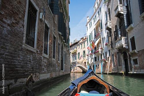 Fototapeta gondola in venice ride turist
