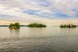 Thousand Islands at the Saint Lawrence river in Canada