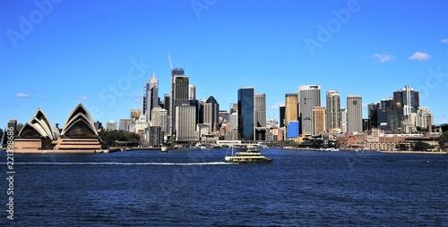 Leinwanddruck Bild Sydney, Australie
