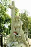 Virgin Mary under the cross - 221414206