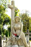 Virgin Mary under the cross - 221414256
