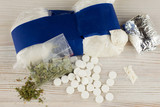 a suspected drug trafficking - cocaine, heroin, spice, marijuana, and etc - many - 221422430
