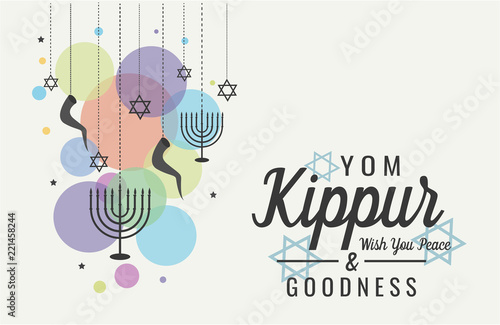 Yom kippur greeting card or background vector illustration buy yom kippur greeting card or background vector illustration m4hsunfo