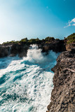 Blue Lagoon en la isla de Nusa Lembongan, Indonesia. - 221463403