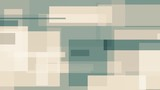 Cyan and light brown rectangles, abstract motion background - 221475253