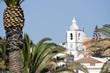 Leinwanddruck Bild - Igreja de Santa Maria, Lagos, Algarve, Portugal