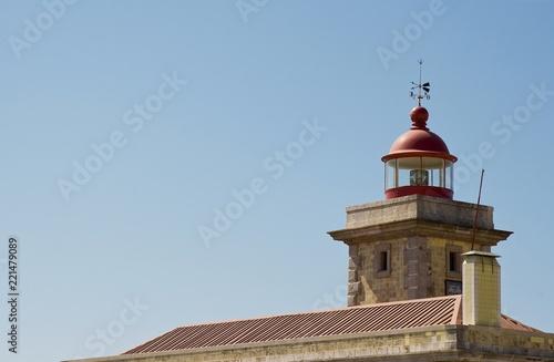 Leinwanddruck Bild Leuchtturm, Ponte da Piedade, Algarve, Portugal
