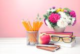 Teachers day,empty copy space background. - 221488620