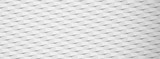 White paper textured banner with geometric pattern.